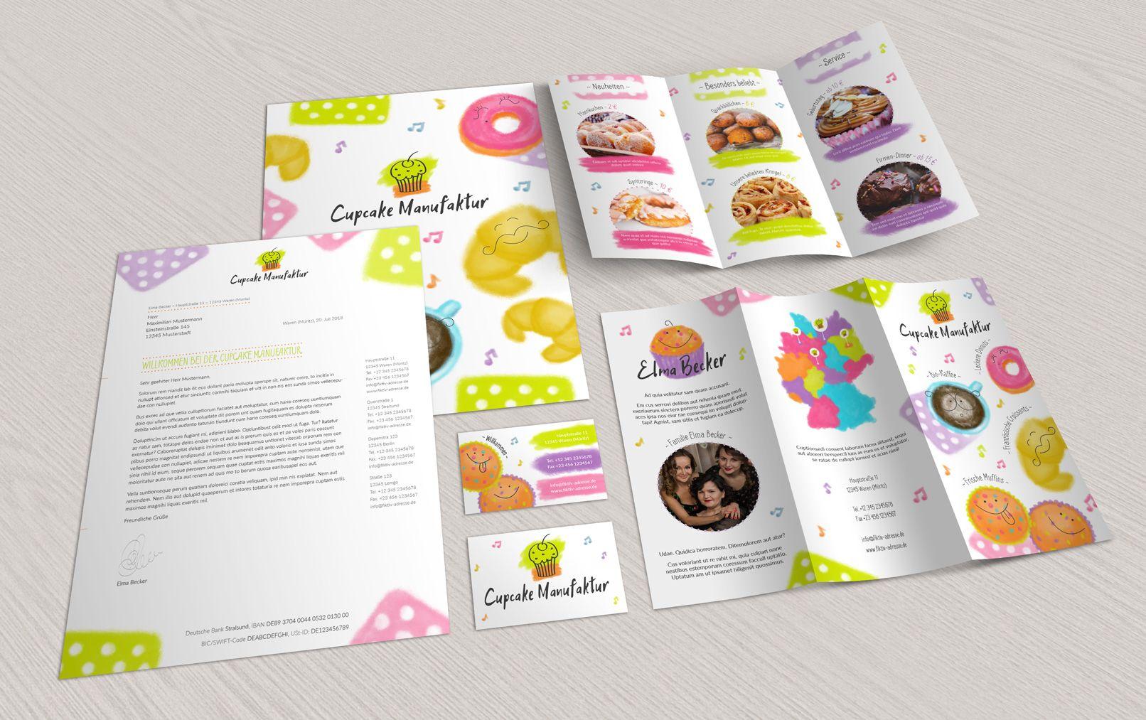 Vorlagen Visitenkarten Flyer Designs Für Restaurant