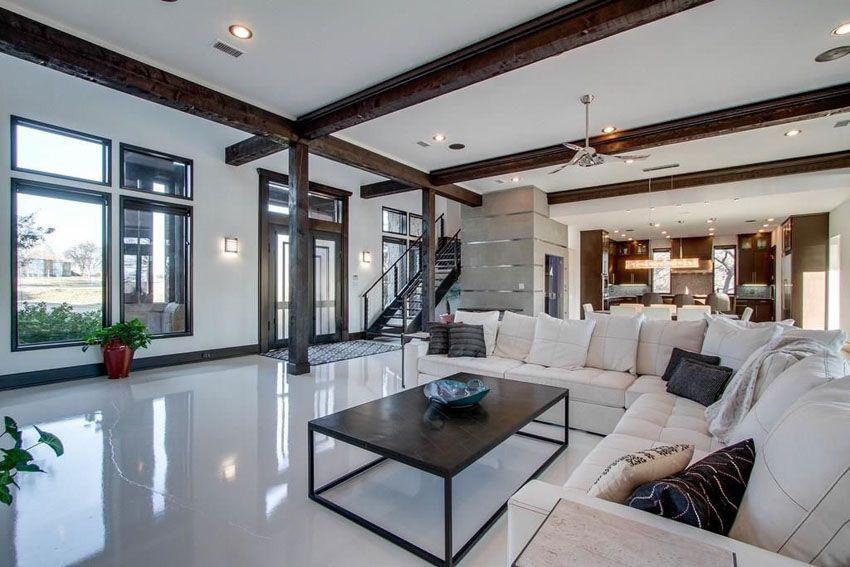 43 Beautiful Large Living Room Ideas Formal & Casual Designs Classy Large Living Room Design Design Decoration