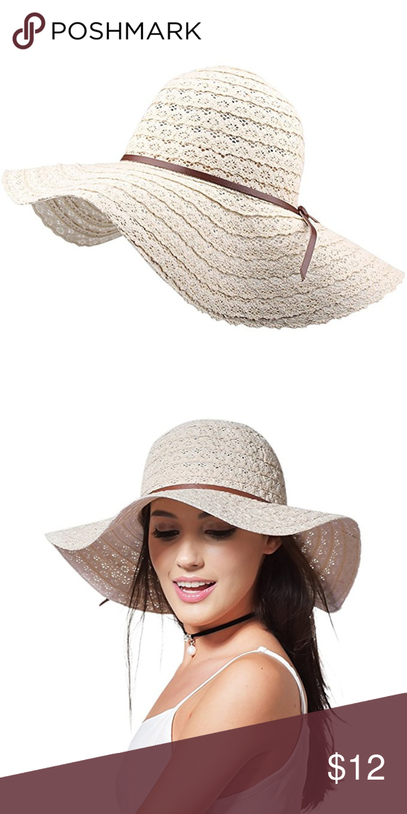 6d53bbeed8f Sun Hat Foldable Floppy Travel Packing UPF NEW 22