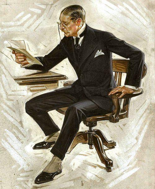 J. C. Leyendecker made famous