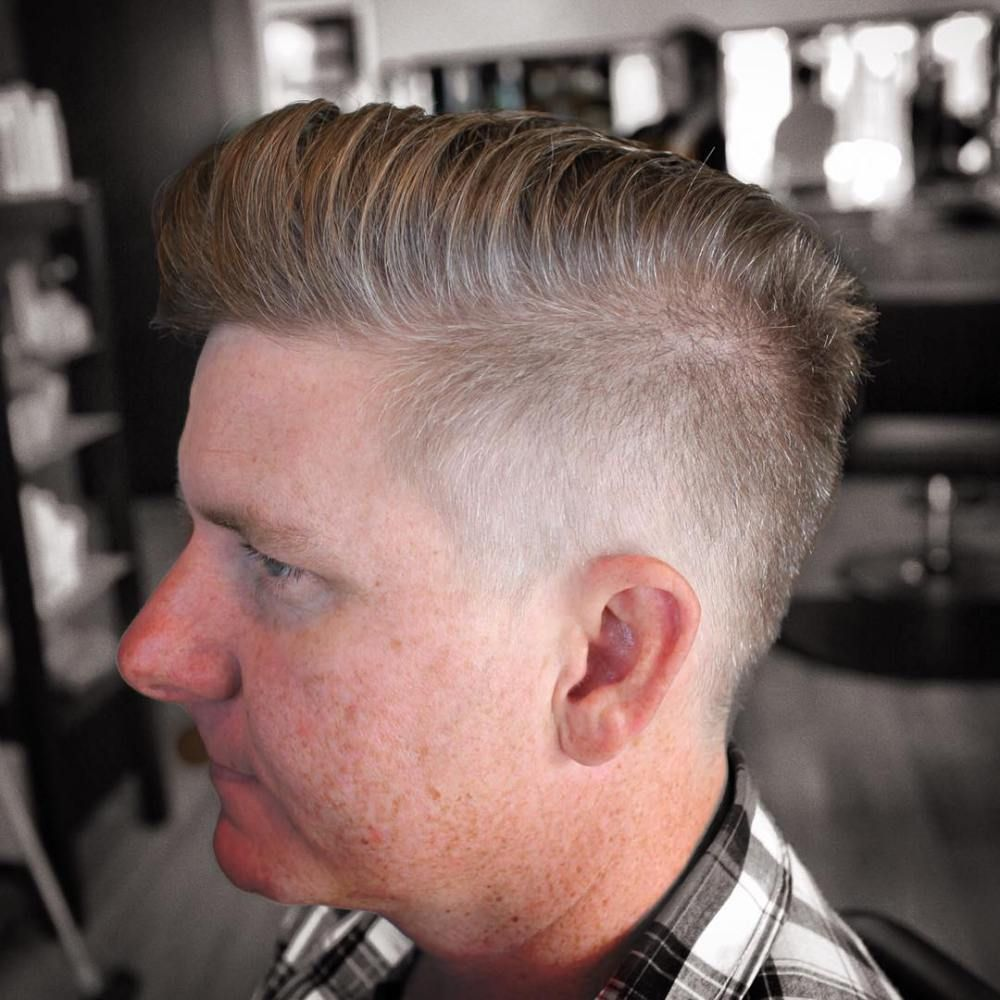 30 ultra-cool high fade haircuts for men | fade haircut, high fade