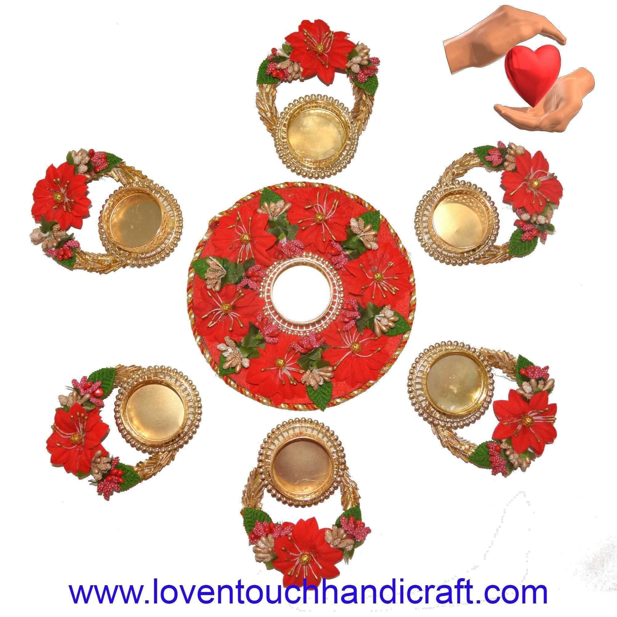 Unique flower candle holder/ Tea light candleholder/ EID Decoration/ Indian Wedding Decoration/ Indian candleholder/ Diwali decoration – pattern 2