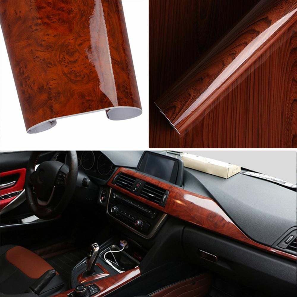 Product Description 1 Made Of Wood Grain Vinyl Soft Protective Coating It Has A Very Strong Metallic Appearan Car Interior Car Stickers Exterior Accessories [ 1000 x 1000 Pixel ]