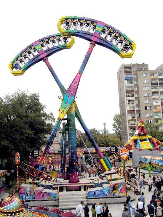 Funny Carnival Rides