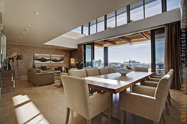 Premier loft avec atrium et grande baie vitr e fen tre pinterest - Grande baie vitree ...