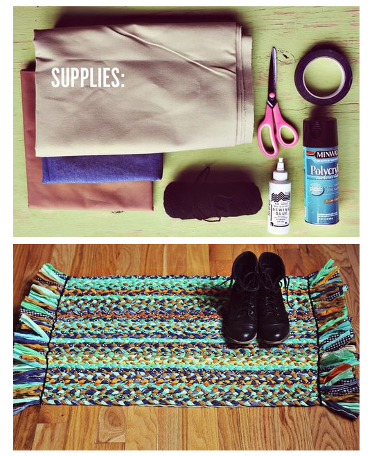 http://www.abeautifulmess.com/2012/07/make-your-own-braided-rug.html