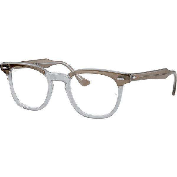 Ray-Ban Hawkeye RX5398 8112, Plastic, Brown, Green glasses