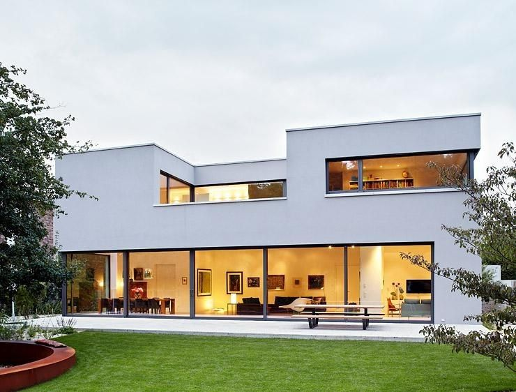 Un type de villa contemporaine que nous vous présentons la façade et - cout installation plomberie maison neuve