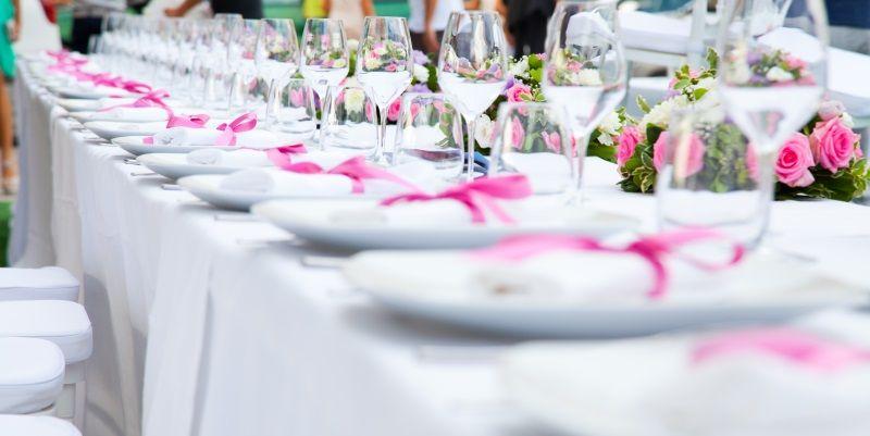 Favori Tavolo imperiale per prima comunione | Allestimento tavoli  NC93