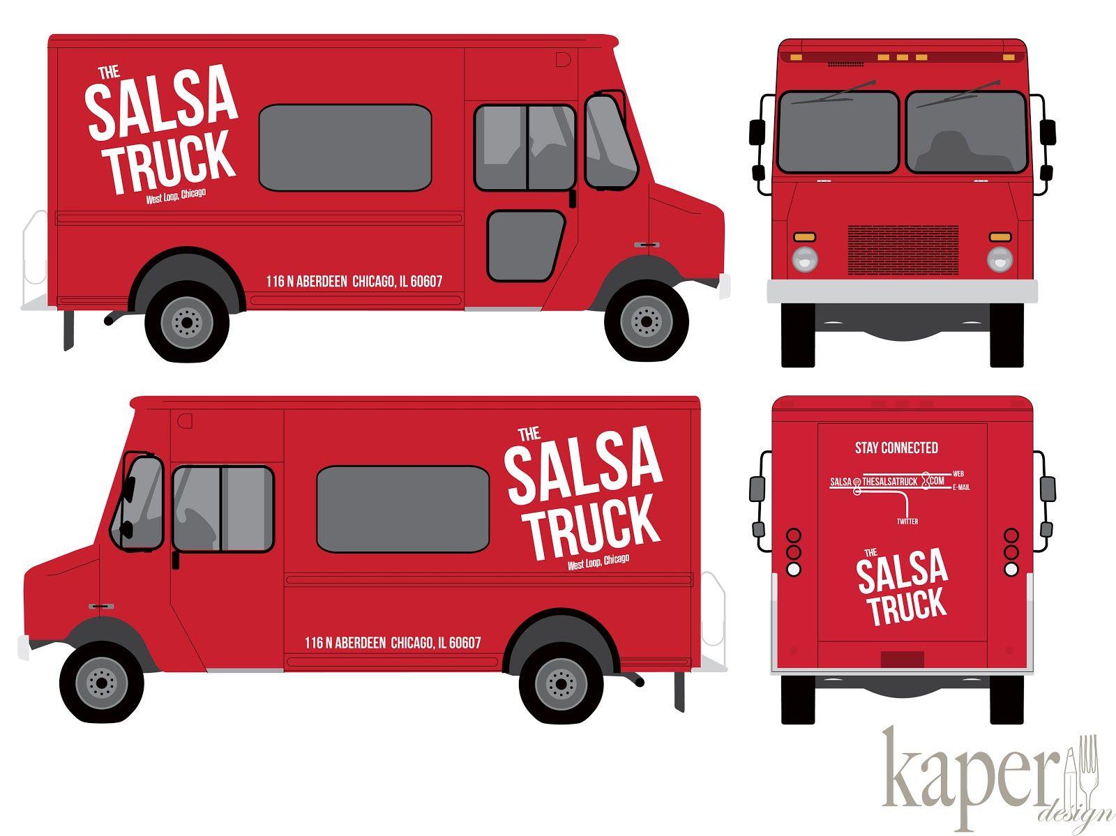 Kaper Design Restaurant Hospitality Design Inspiration Our Work The Salsa Truck Design Hospitality Design Salsa