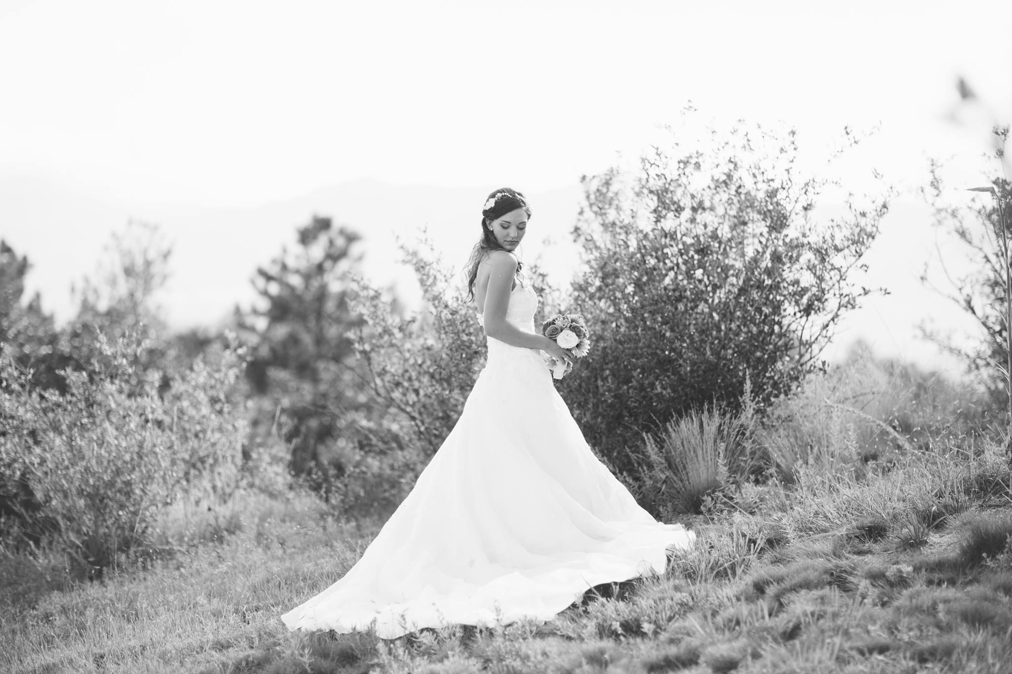 bride portrait idea