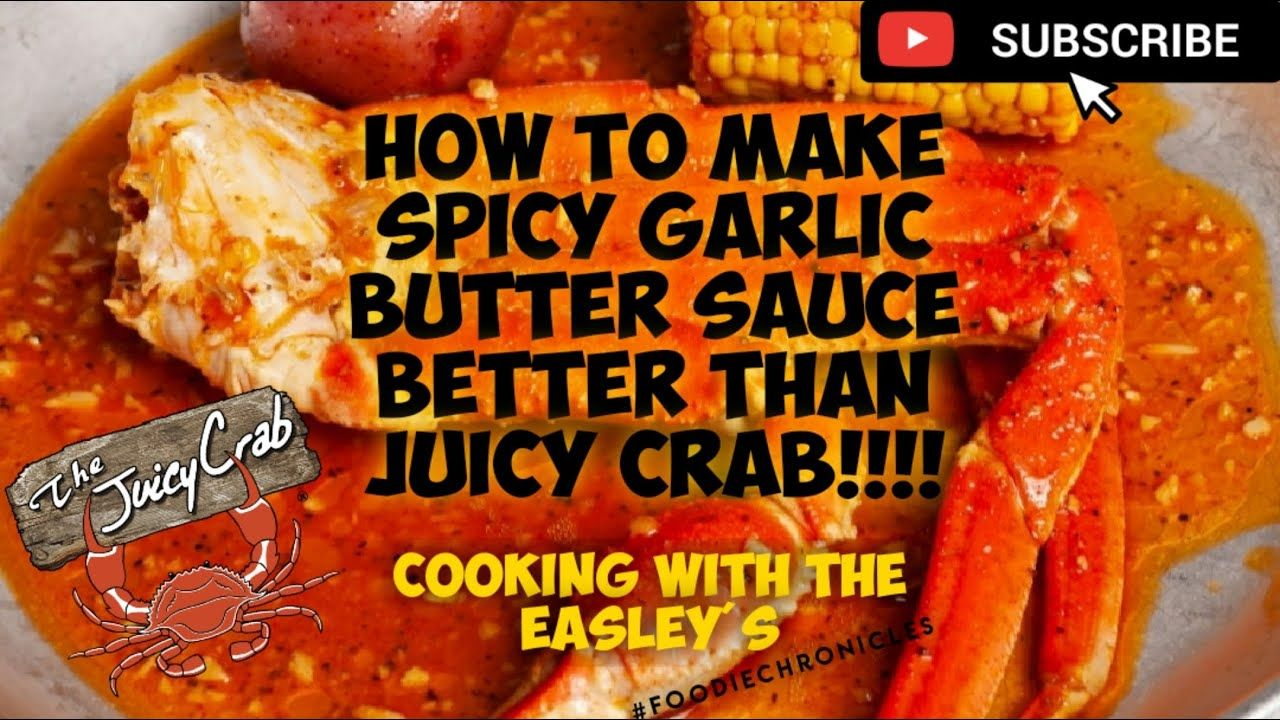 Cooking With The Easley S How To Make The Juicy Crab Sauce Better Than Juicy Crab We Us Crab Seasoning Recipe Seafood Boil Recipes Crab Legs Recipe