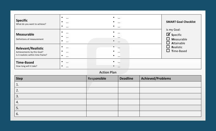 Professional Smart Goals Ppt Templates Smart Goals Are Easy To Achieve If You Have An Action Plan A Goal Che Smart Goals Smart Goals Template Goals Template