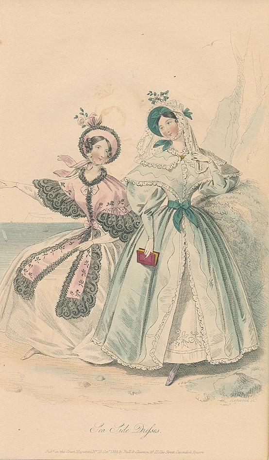 October, 1833 - Sea Side Dresses - Court Magazine