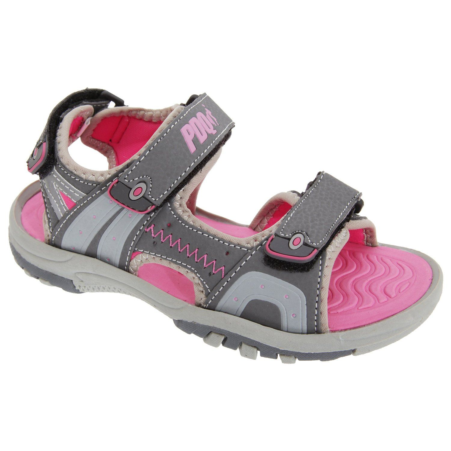 PDQ Kids Uni 3 Touch Fastening Sports Sandals Discover this