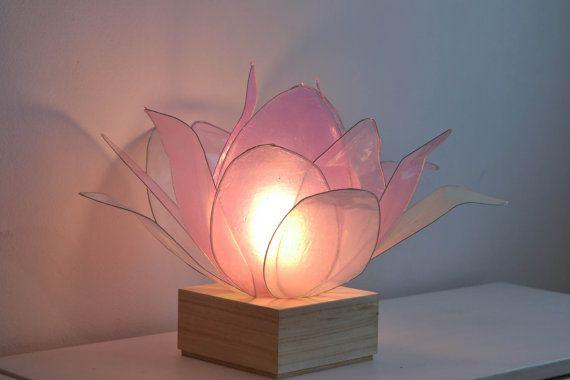 Lotus Flower Lamp To Brighten The Spirit By Fiorediluce On Etsy