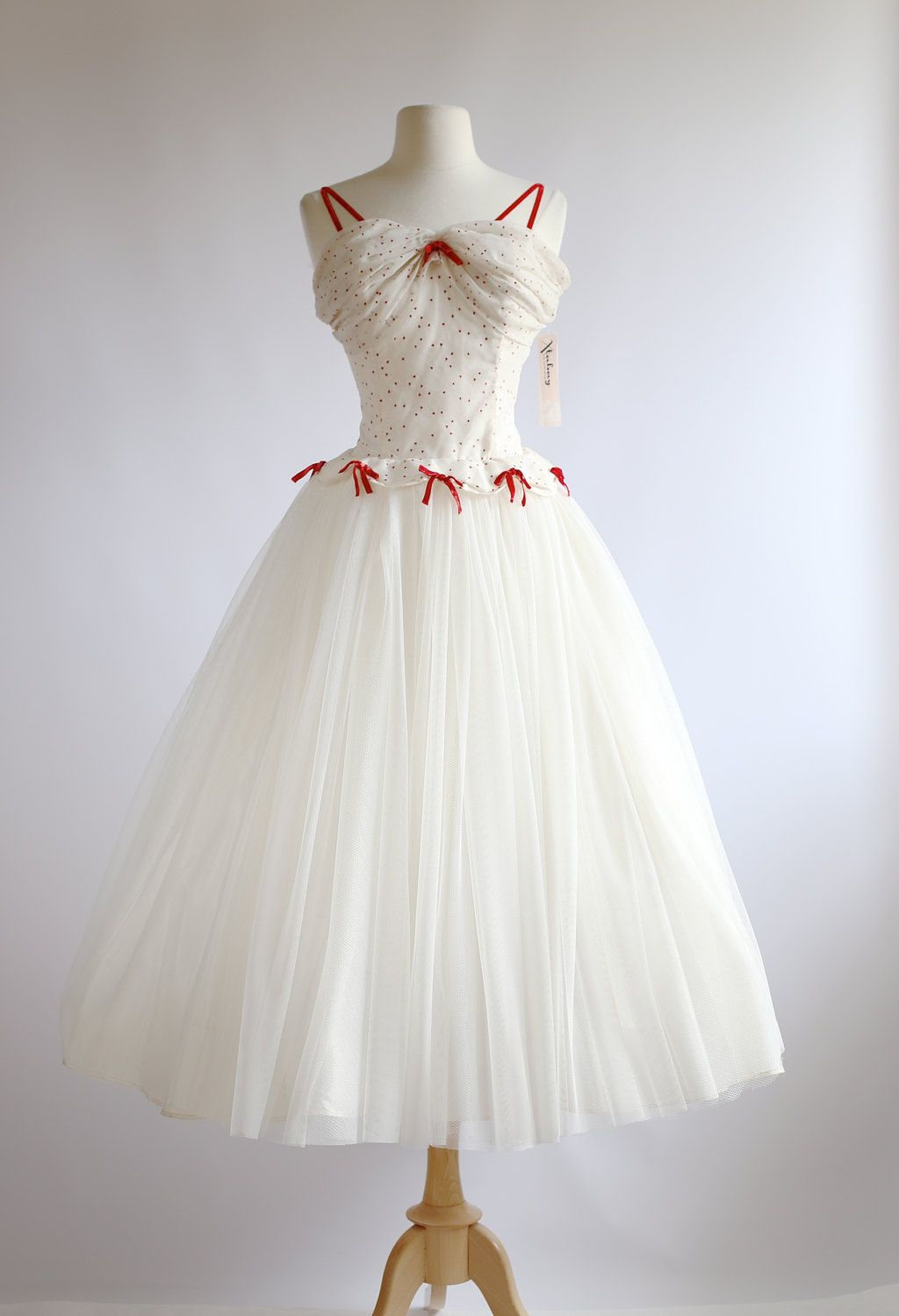 Vintage 1950s Prom Dress ~ Queen Of Hearts Dress ~ 50s Party Dress ...