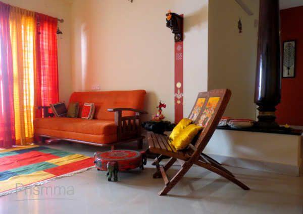 Drapes Design Archaana23  Home Shanti Home  Pinterest Mesmerizing Indian Seating Designs Living Room Design Inspiration