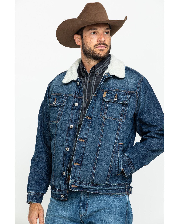 Cinch Men S Concealed Carry Denim Jacket Denim Jacket Men Outfit Mens Western Wear Sherpa Denim Jacket Mens [ 1500 x 1200 Pixel ]