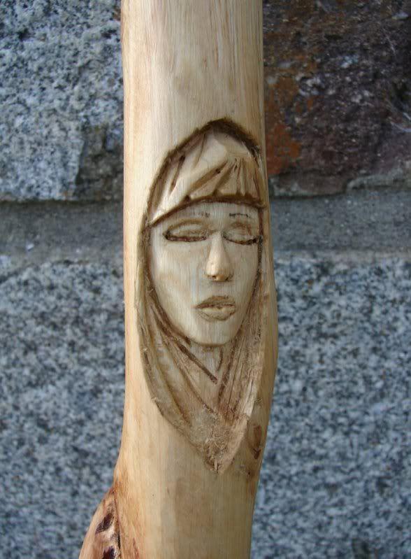 sculpture wood spirit