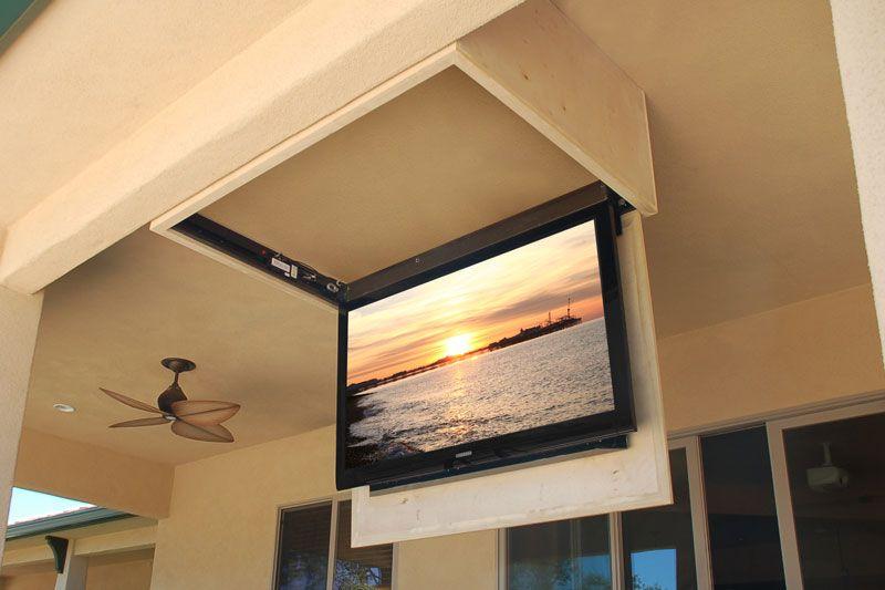 Ceiling Tv, Outdoor Tv Mounts Ceiling