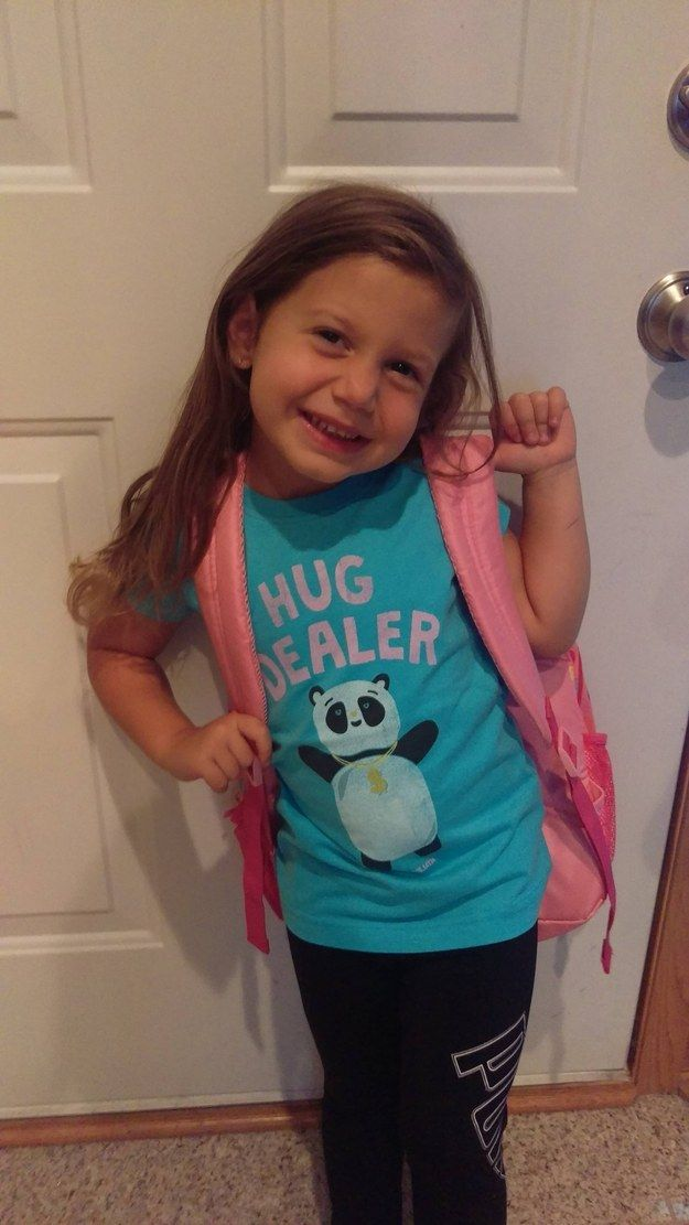 This husband who has excellent taste in children's fashion: | 29 Husbands Who Crushed This Whole Marriage Thing In 2015