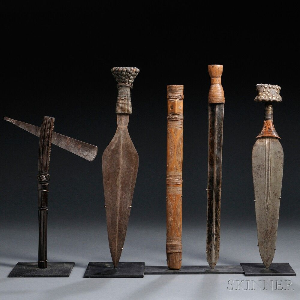 Four African Weapons Number 2662m Lot 1 Skinner Auctioneers