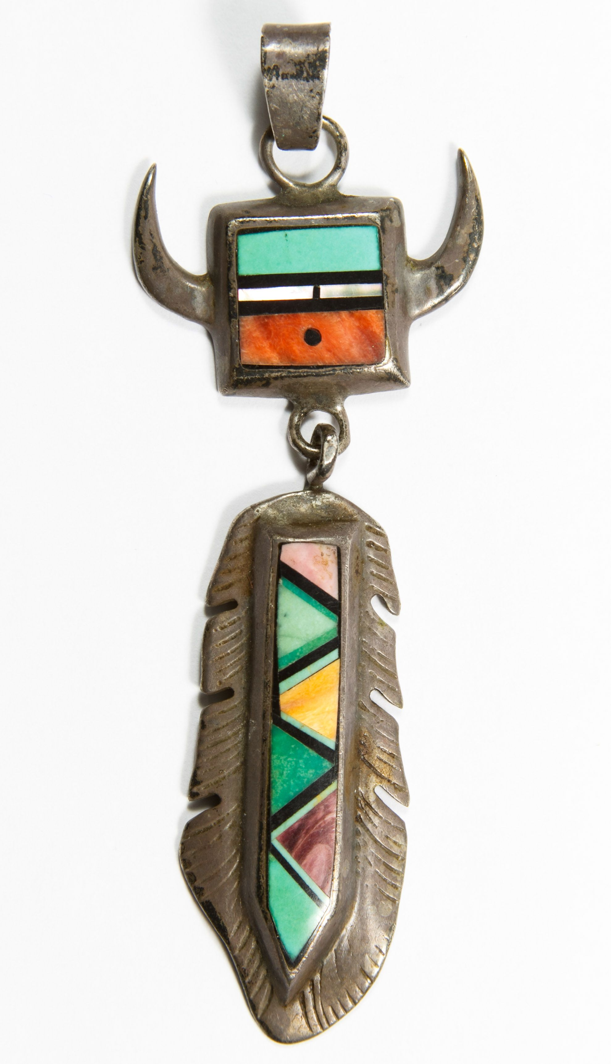 southwest pendant n products jewelry claw necklace navajo bear