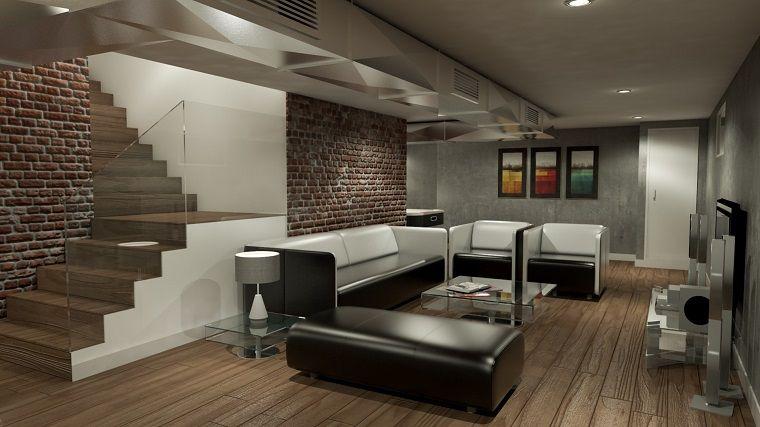 taverna moderna pareti muratura taverna moderna in 2019 ForArredamento Da Taverna