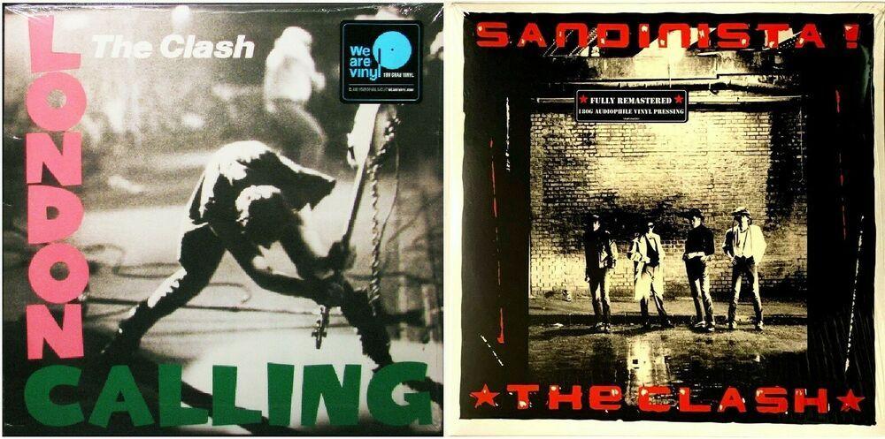 The Clash Sandinista London Calling Lp Vinyl Record Lot Of 2 New 180 Gram Ebay In 2020 Vinyl Records The Clash Lp Vinyl