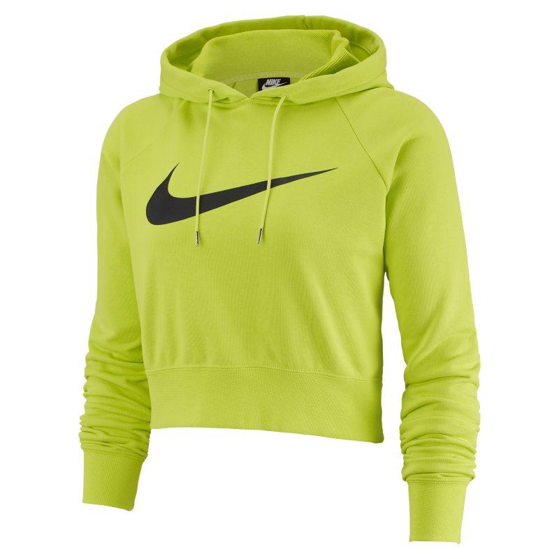 nike swoosh hoodie green