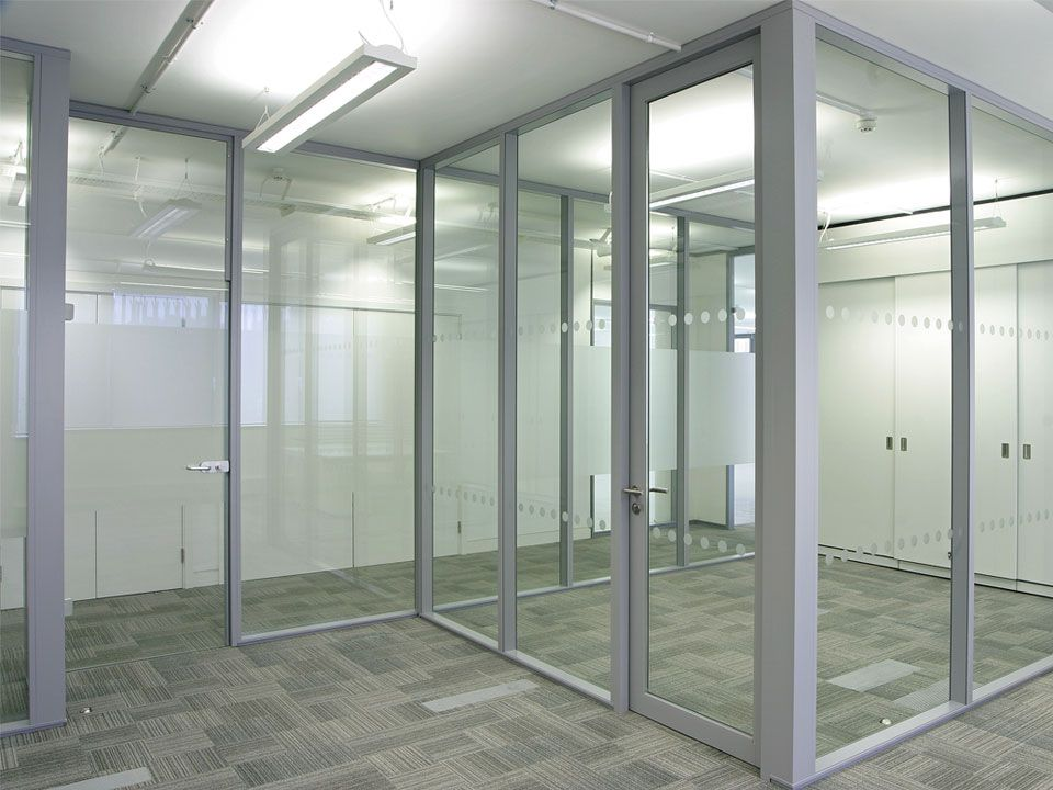 Glass Office Partitions Wall Systems Decoration Pinterest
