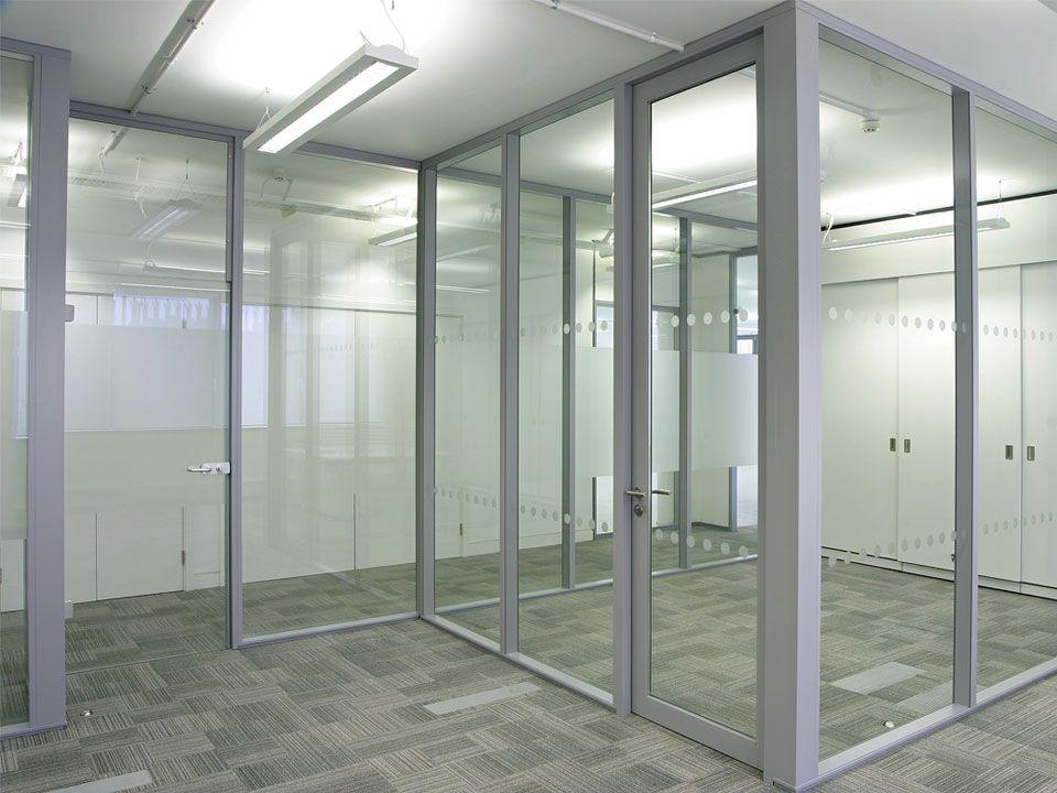 Transverso Monoblock Modular Glass Walls Office Partitions Wall