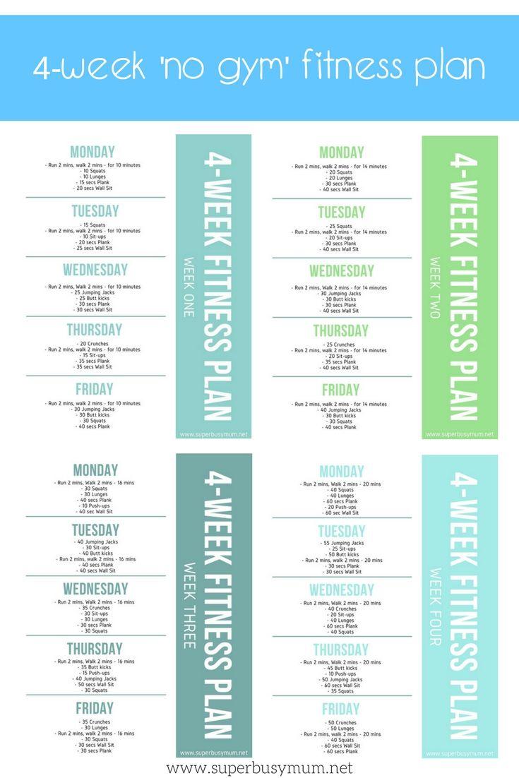 My 4-week 'no gym' fitness plan - Super Busy Mum - Northern Irish Blogger