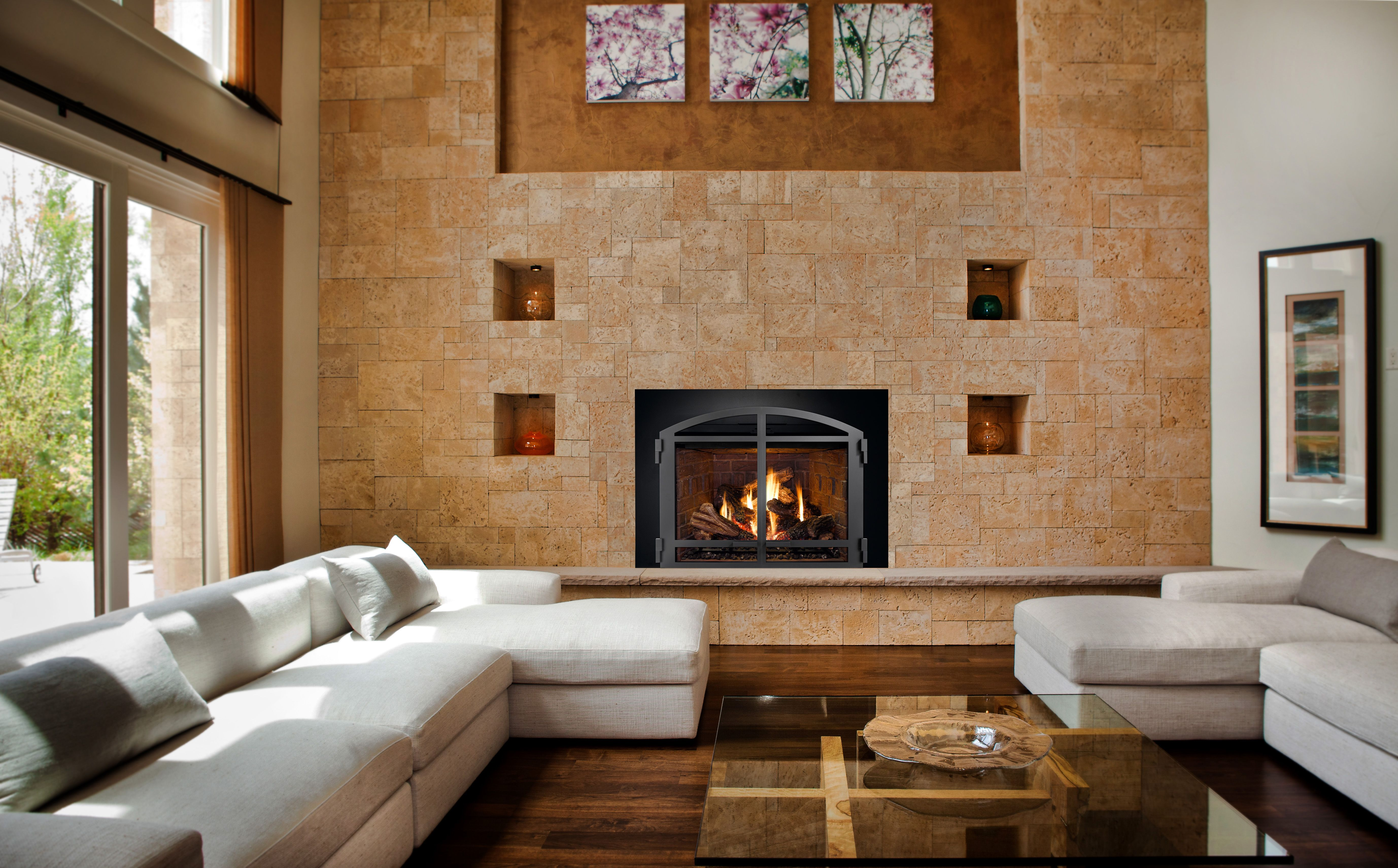 The Convenience Of A New Gas Insert Vs Old Wood Burning Fireplace Gas Fireplace Insert Fireplace Gas Fireplace