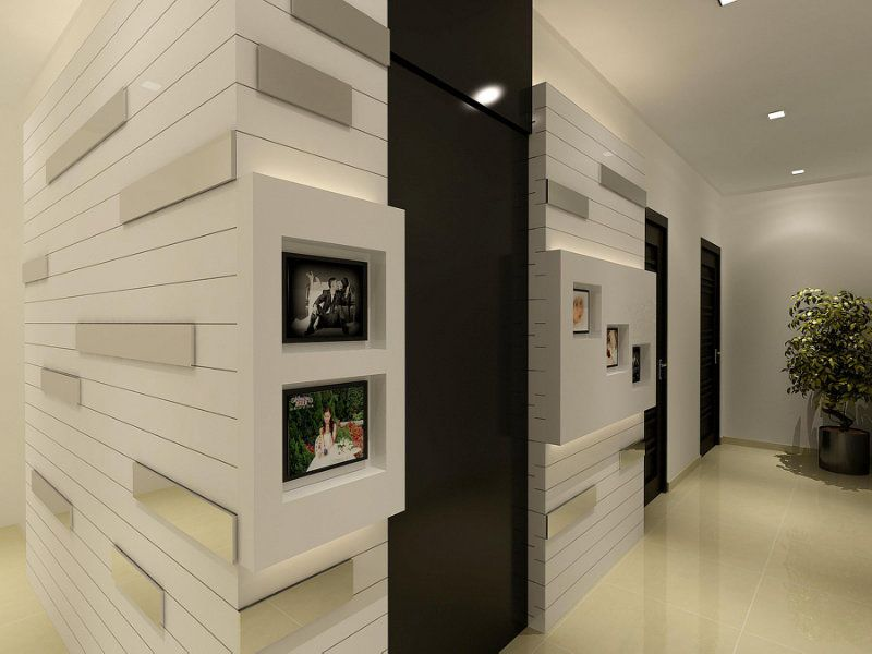 Modern Feature Wall Design Architectural Source Pinterest