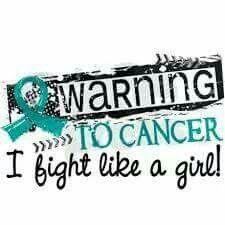 Ovarian Cancer Awareness Fight Like A Girl