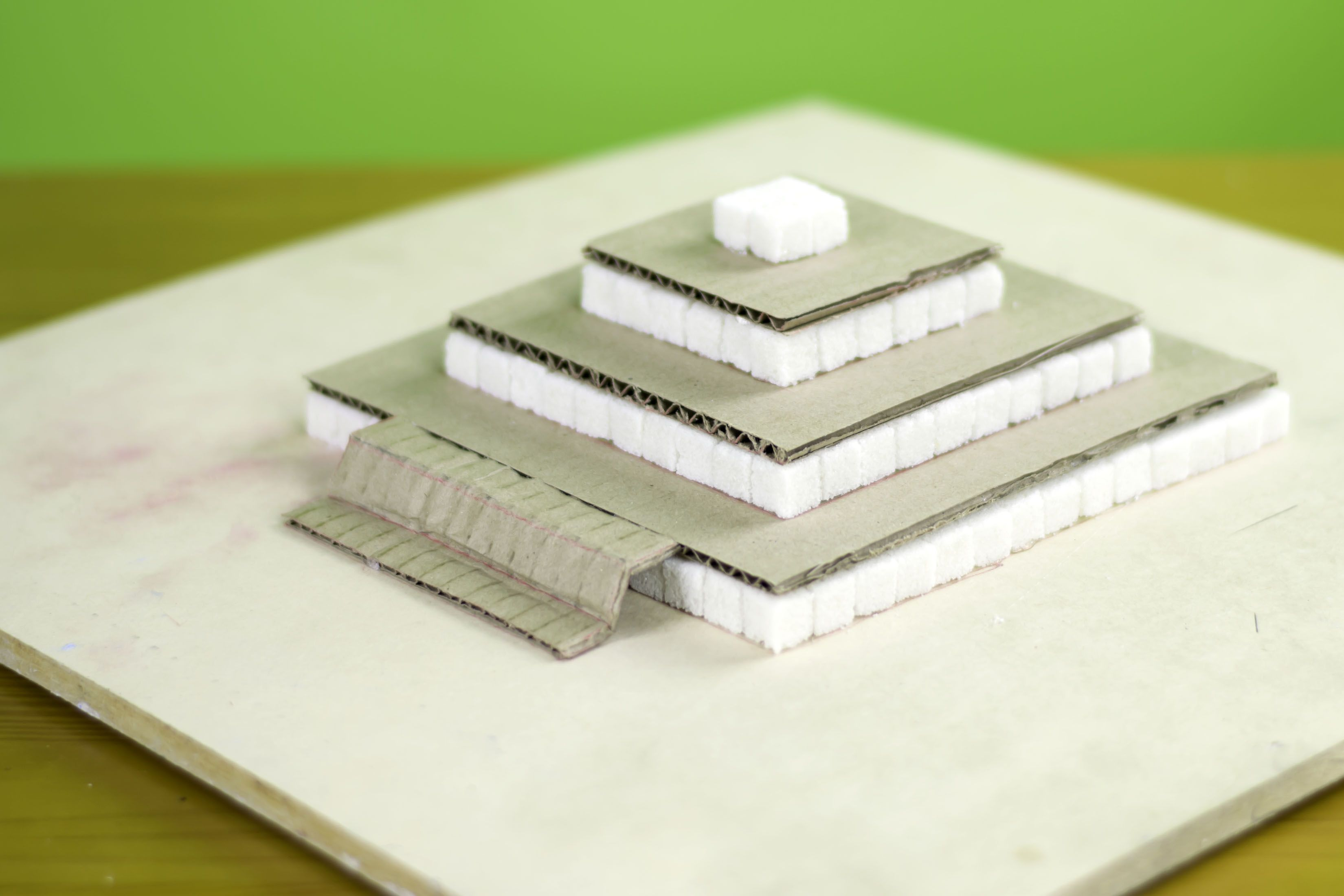 How to Build a Ziggurat for a School Project | crafts