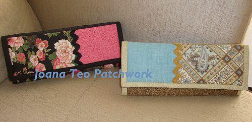 Carteiras de patchwork