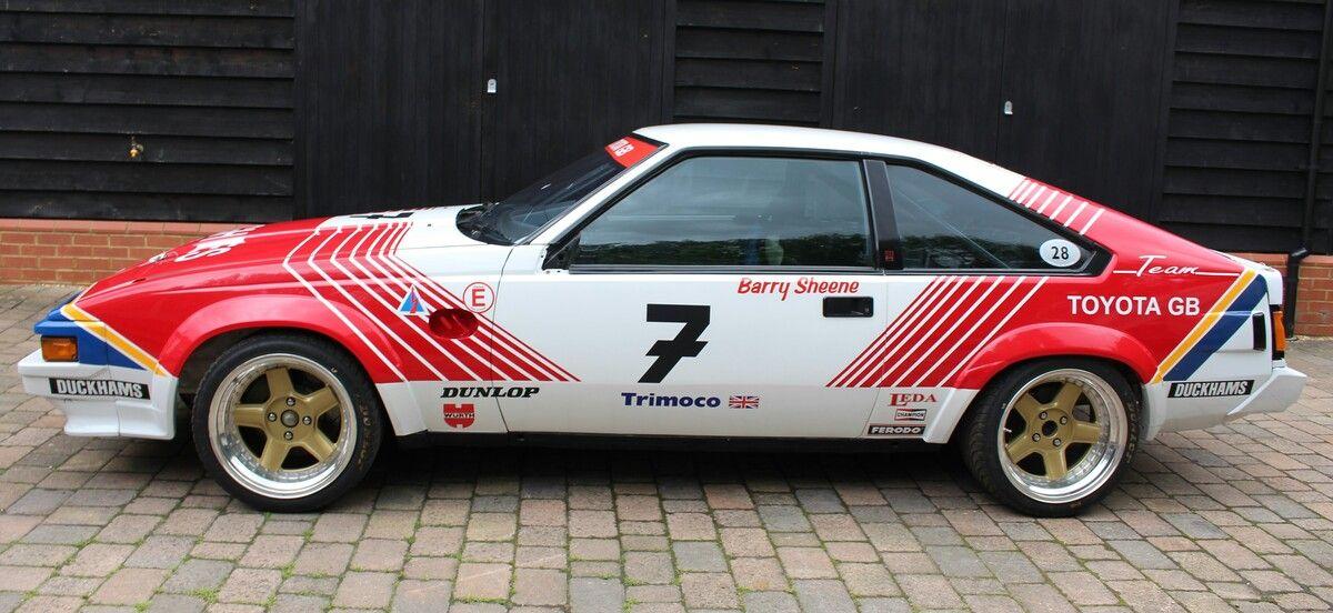 Rare BTCC Toyota Supra to star in Silverstone Classic Race Car Sale ...