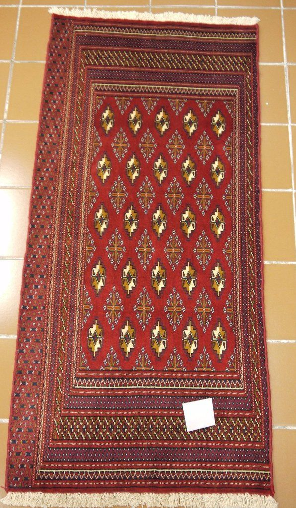 19632Turkmen HandKnotted/Handmade Persian Rug/Carpet