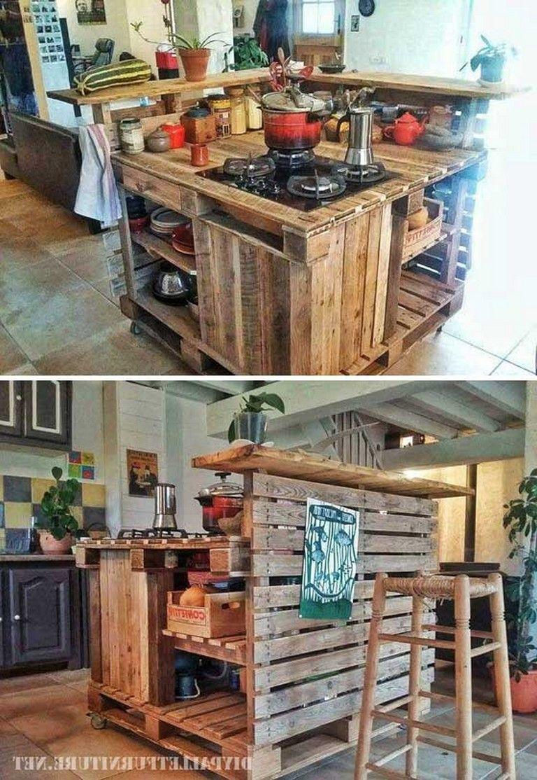 As a very typical recycled stuff wooden