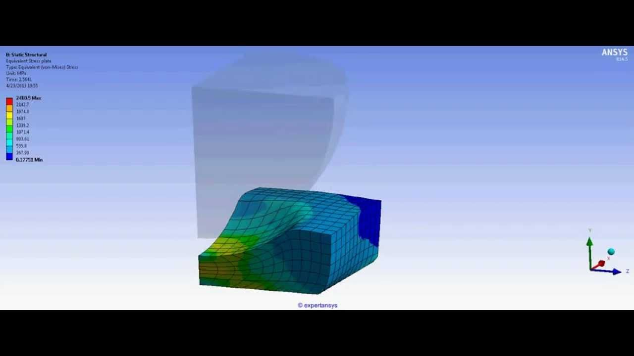 TUTORIAL 2: Ansys Workbench Static Structural Finite Element