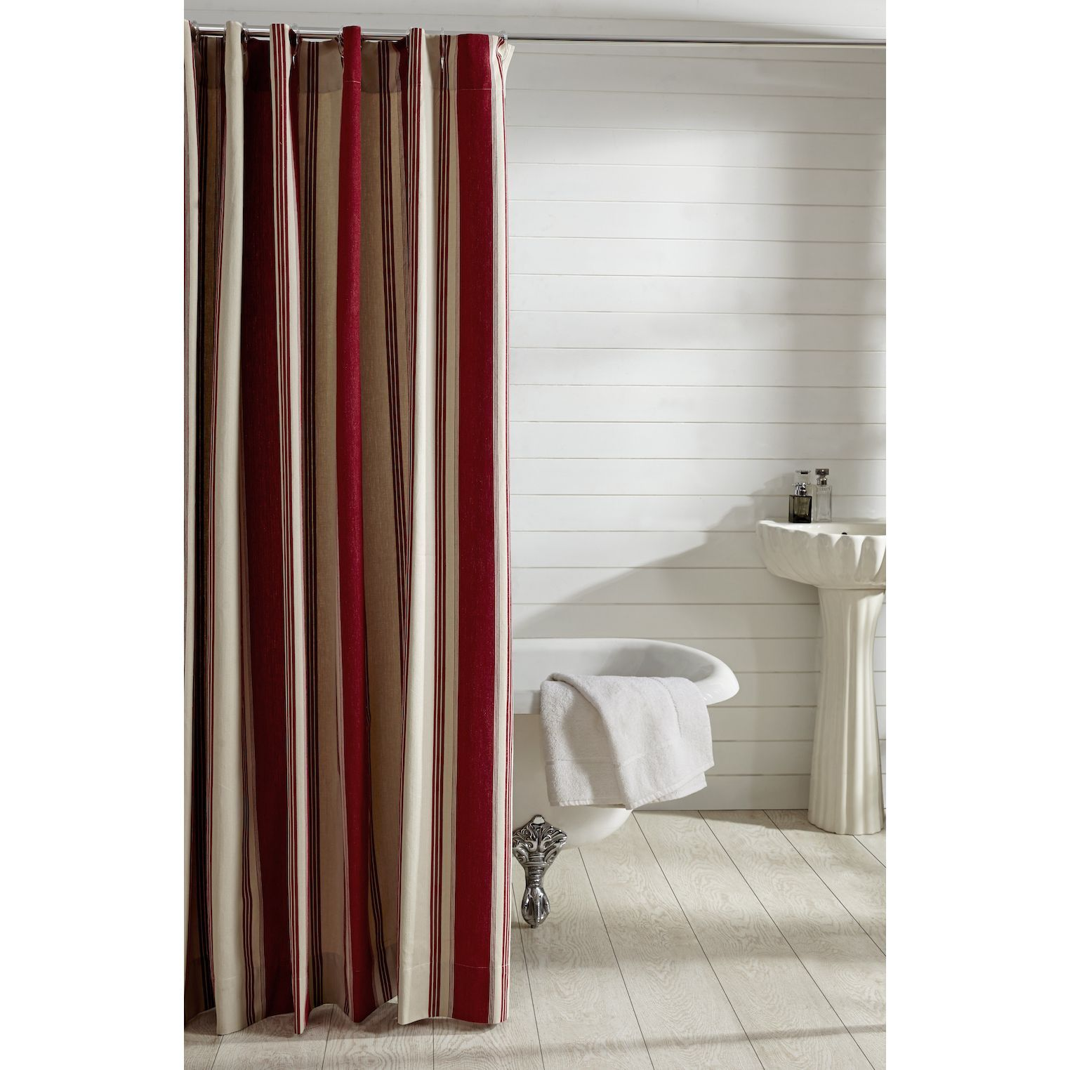 red and tan shower curtain. Cody Shower Curtain  Bathrooms decor Blue and Tans