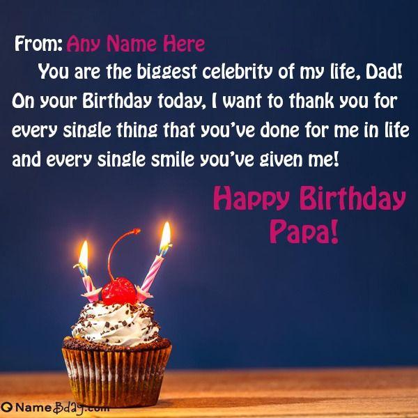 Happy Birthday Papa Cake Quotes