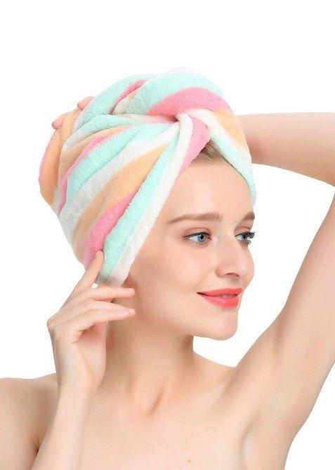 10 schick aussehende Haartücher zur Vervollständigung Ihrer WFH-Garderobe  – Bob Frisuren
