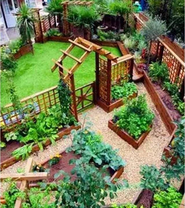 家庭菜園款式參考130例 Garden Layout Fruit Garden Layout Making