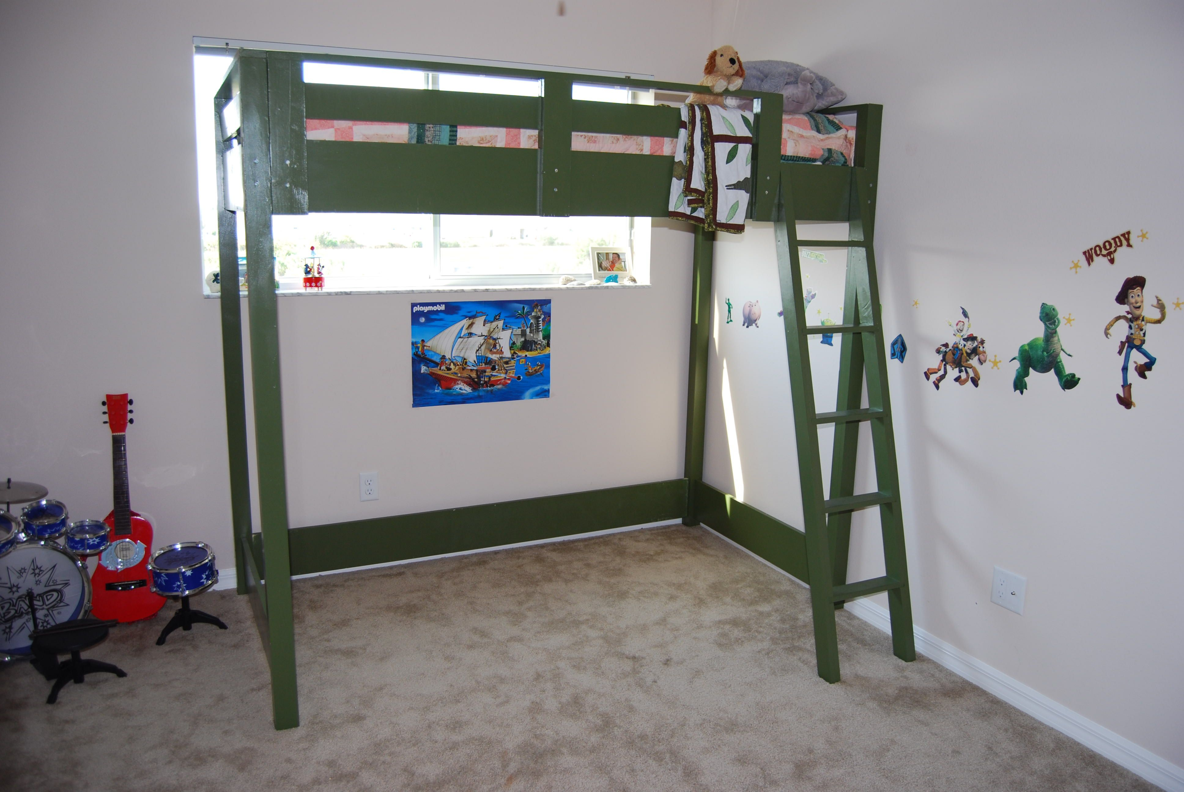 Loft Bed Do It Yourself Home Projects from Ana White