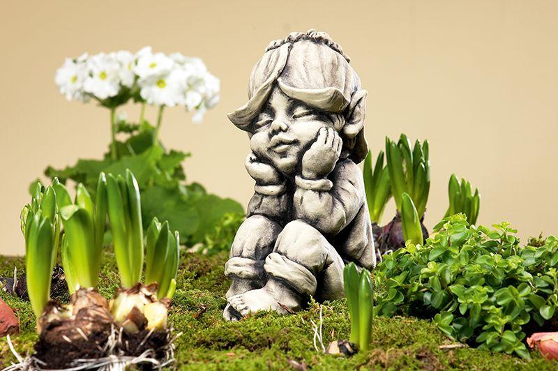 Blutentroll Goldlack Detailverliebte Verarbeitung Aus Frostfestem Steinguss Gefunden Auf Www Country Garden De Gartenaccessoires Bluten Blumen