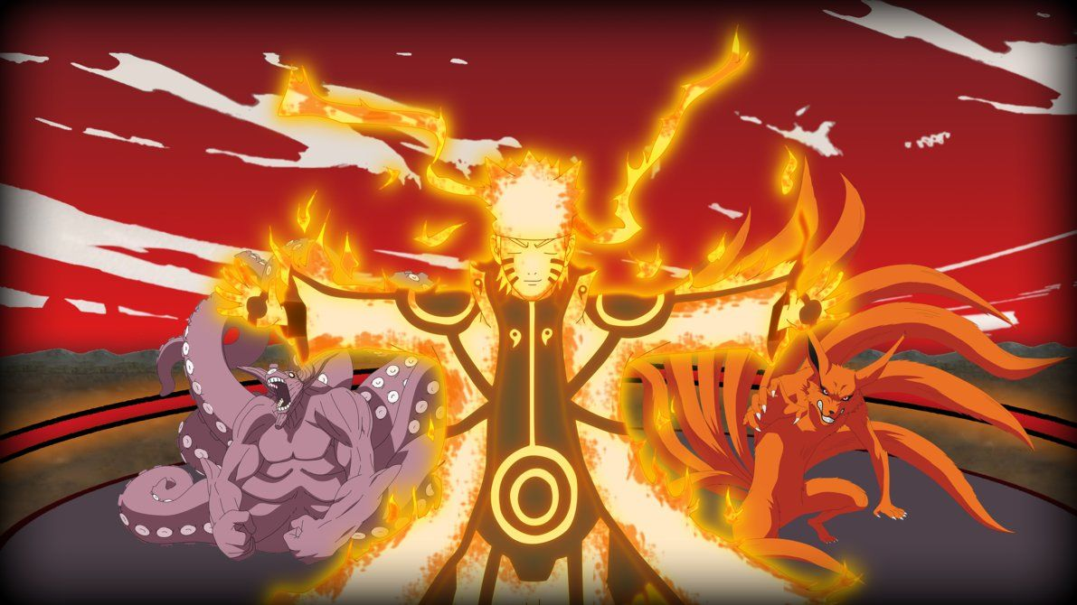 Naruto Kurama Mode Wallpaper Free Download Dengan Gambar